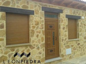 Revestimiento fachada - Piedra caliza fachada ...